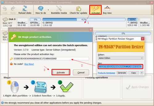 IM-Magic Partition Resizer 2019下载截图4
